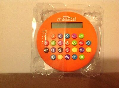 Vintage SMARTIES Limited Edition Collectable Calculator