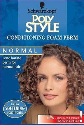 Schwarzkopf Poly Style Conditioning Foam Perm For Normal Hair #1UL