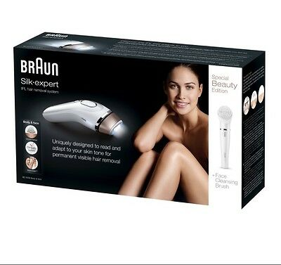 BRAUN IPL HAIR REMOVAL SYSTEM BD5008 + Face Cleansing Brush Special Beauty Editi