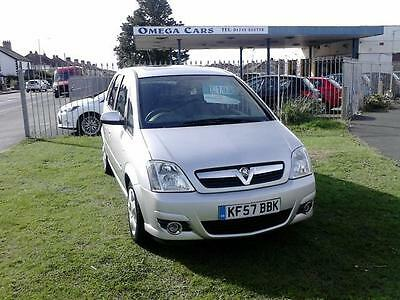 2007 (57) VAUXHALL MERIVA 1.6 DESIGN 16V 5DR Manual