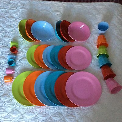 Melamine Dinner Set by RICE DK : Great for Camping, Picnics, Children, Outdoors.