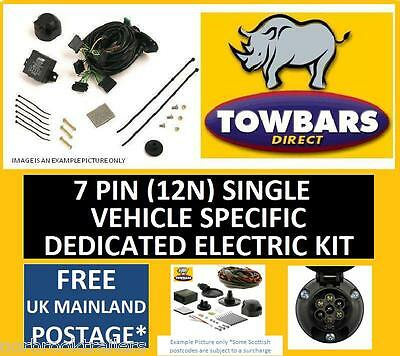 7 Pin Towbar Wiring Kit for Ford Focus 1998 to 2003 Vehicle Specific Electrics