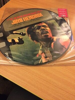 Jimi Hendrix - Experience Part One Lp Picture Disc Mint