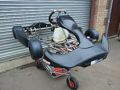 2015  Octane Kart Rolling Chassis / Rotax / X30 / Tkm
