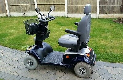 kymco 8 m.p.h mobility scooter