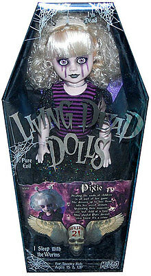 """Living Dead Dolls Series 21  PIXIE"""" ONLY """"   Just her !!    NOTHING ELSE."""