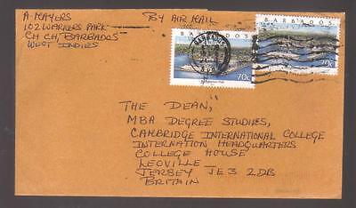 9516- Barbados, cover to UK Scott  987A – ships