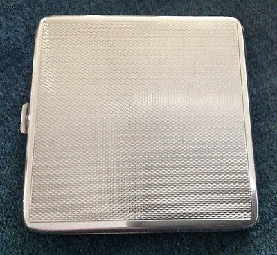 Sterling Silver Powder Compact