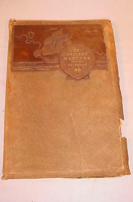 1899 Roycroft Book Ye Ancient Mariner Coleridge Signed Elbert Hubbard No 882