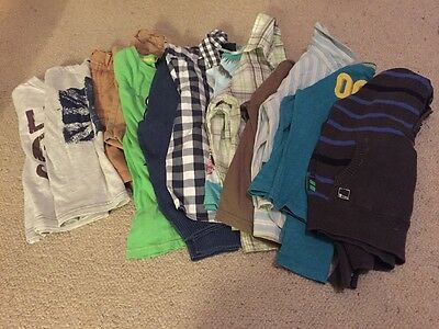 Big bundle boys clothes 4-5 years 12 Items (Next, H&M & Primark And Others)