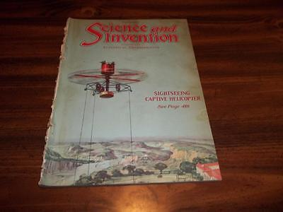 1921 September, Science And Invention, Helicopter, Motion Pictures, H. Gernsback