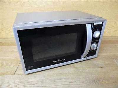 Morphy Richards MM820CXN 20L Countertop Solo Microwave Oven 800W -Silver *SCR*