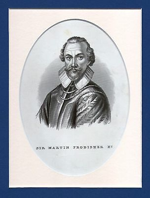 Sir Martin Frobisher - Navigator & Privateer - Eng. after Michael Vandergucht