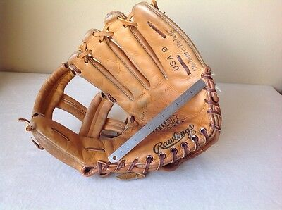 Rawlings USA 9 Baseball Glove, American Made For Americas Best