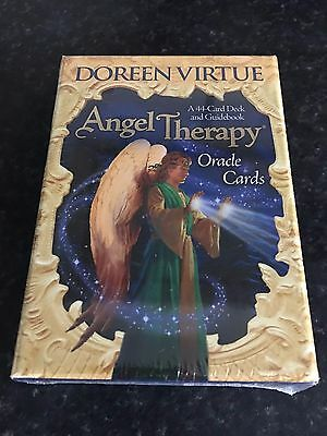 Angel Therapy Oracle Cards by Doreen Virtue New And Sealed