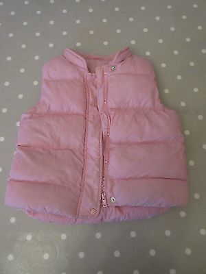 Marks & Spencer Girls Pink Puffer Down Jacket (3-4 Years)