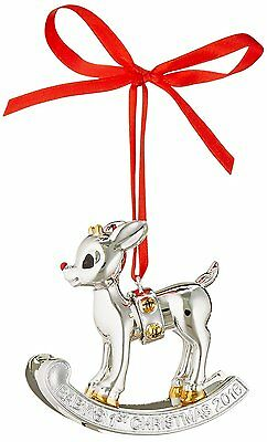 Lenox 2016 Baby's First Christmas Rudolph Ornament