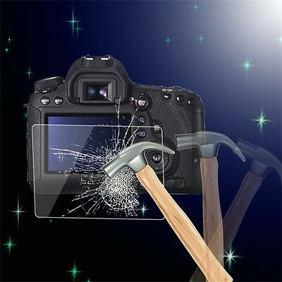 Tempered Glass Camera LCD Screen HD Protector Cover for Canon 6D JK