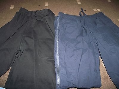 M & S black joggers age 11yrs & George cotton trousers age 10/11 yrs
