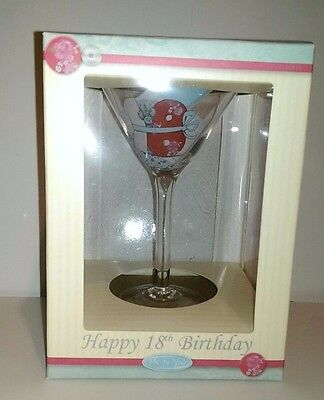 Me to you 18th birthday glass boxed