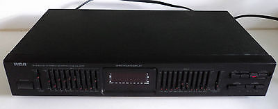 Vintage RCA Ten 10 Band Stereo Graphic Equalizer Spectrum Display Cat# 31-5001