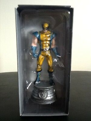 EAGLEMOSS MARVEL CHESS COLLECTION # 3 WOLVERINE  FIGURE  - New in box