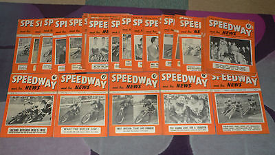 SPEEDWAY & ICE NEWS Magazine - 44 issues from 1952