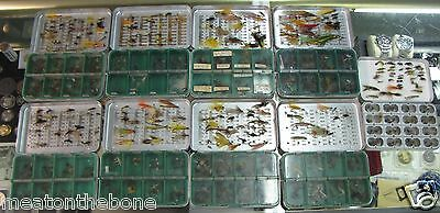 Lifetime Collection Hand Tied Flies 9-Cases Must C