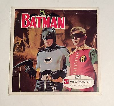 """Viewmaster   """"Batman  in  The purr-fect crime""""  reels x3"""
