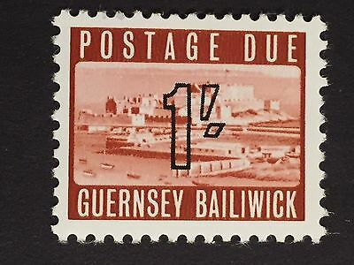 "GUERSNEY (Great Britain) 1969 ""POSTAGE DUE"" Scott J7 $12  MNH"