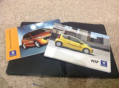 PEUGEOT 107 OWNERS MANUAL  HANDBOOK 2005-2009 covers audio,directory