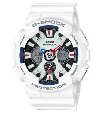 Brand New Casio G-Shock GA120TR-7A Ana-Dig XL Try ColorLimited Watch