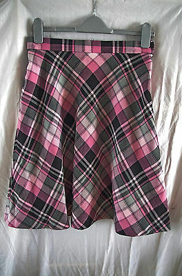 Vintage St Michael Ladies Check skirt size 16