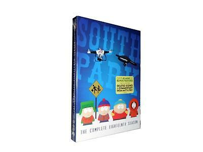 South Park: The Complete Eighteenth Season 18 (DVD, 2015, 2-Disc Set)