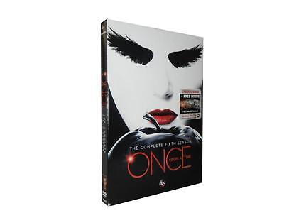 Once Upon A Time: The Complete Fifth Season 5 (DVD, 2016, 5-Disc Set)