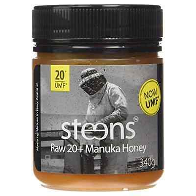 Steens Raw UMF 20+ (MGO 829+) Manuka Honey | Genuine, unpasteurised, Cold Presse