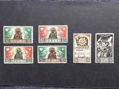 Poland , Ww Ii , Military Settlements In Italy Stamps