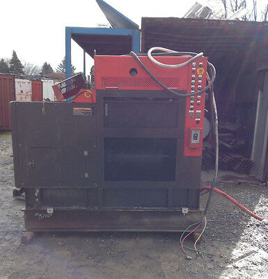 Amada NCC CCP-100H Chip Compactor Scrap Puck Briquette Press 3PH 200/220V 110T