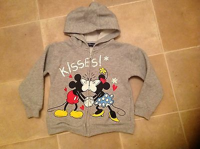 Girls Minnie Mouse hoodie to fit 4 years