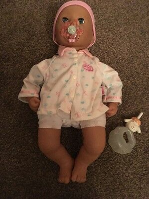 baby annabelle doll With Dummy And Bottle