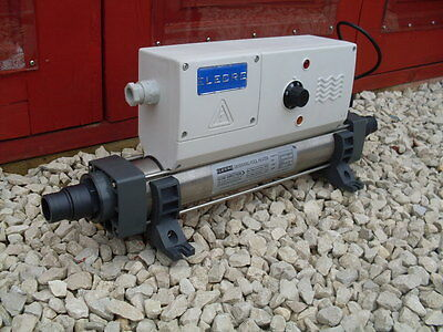 ELECRO 6KW KOI POND and or SWIMMING POOL HEATER 240VOLT 25AMP SELLER REFURBISHED