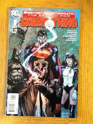 The Search for Swamp Thing 1 of 3 (VF) from April 2011 - postage discounts apply