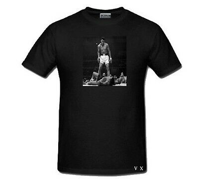 NICKS -N- DIMES  Muhammad Ali vs Sonny Liston Greatest all time Graphic T Shirt