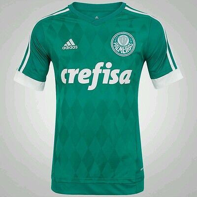 Palmeiras G.JESUS 33 Shirt Home Soccer Jersey 2015/16 Authentic with tag