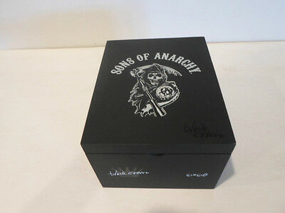 Sons Of Anarchy 6 X 60 Colectible Wood Cigar Box Good Condition