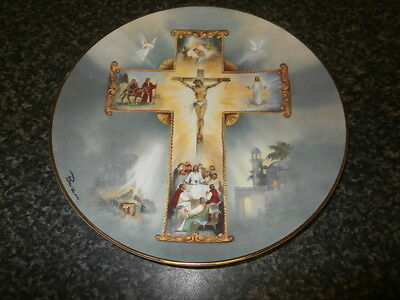 Royal Doulton Plate The Life of Christ by Barzoni Franklin Mint Heirloom
