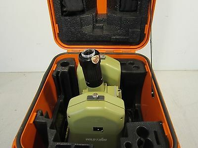 Leica Wild Model T3000 Theodolite Instrument with Carrying Case