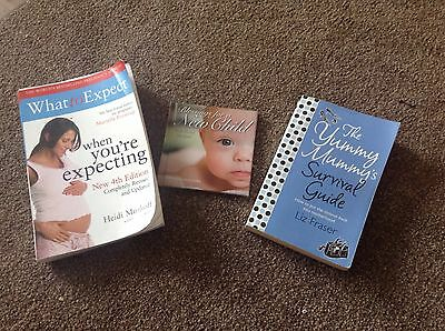 Baby book bundle inc. What to expect when you're expecting