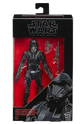 Imperial Death Trooper Star Wars Rogue One 6-Inch Figure Black Series New!