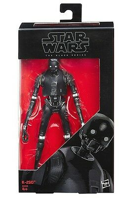 K-2So Robot Star Wars Rogue One 6-Inch Figure Black Series New!